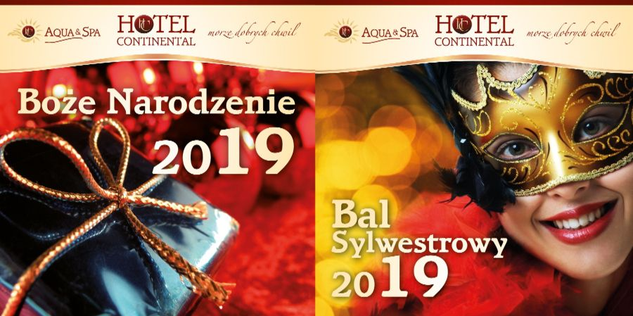 Sylwester 2019 nad morzem w Krynicy Morskiej. Hotel Continental Aqua & Spa zaprasza