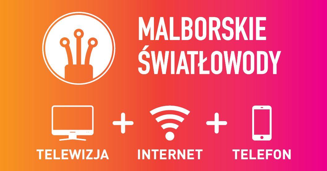 internet światłowód telewizja TELEFON Malbork Nowy Staw Nowy Dwór Gdański