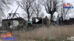 Pożar budynku mieszkalnego w Kościeleczkach - jedna ofiara śmiertelna, dwie poszkodowane - 16.04.2012