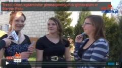Stare Pole: Uczniowie szkoły podstawowej na egzaminie gimnazjalnym