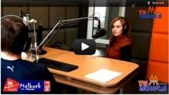 Gość Radia Malbork 90'4 FM w TvMalbork.pl: Beata Zawadzka