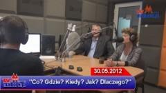 Burmistrz Jerzy Skonieczny i Dyrektor Beata Kacprowicz w ogniu pytań