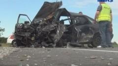 Gnojewo: zderzenie trzech samochodów na drodze K22 - 12.07.2012