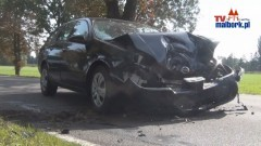 Zdarzenie drogowe w Królewie Malborskim - 21.09.2012