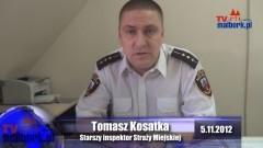 Weekendowy raport służb mundurowych w Malborku - 12.11.2012