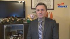 Malbork: Życzenia od burmistrza Andrzeja Rychłowskiego - 2012
