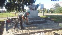 Odnowienie figurki Matki Boskiej w Nowej Wsi Malborskiej