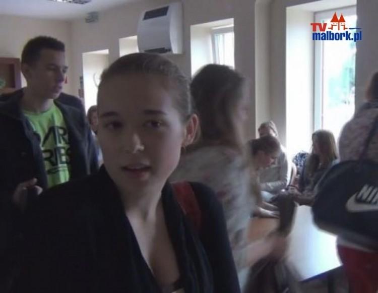 Zajecia dla uczniow ZSP3 w Malborku prowadzone przez Michała Lawryszka