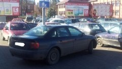 Malbork: Kolejny Karny K.... za złe parkowanie – 1.03.2013