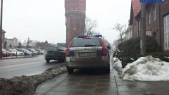 Malbork: Kolejny Karny K....tym razem dla policji za złe parkowanie – 26.02.2013