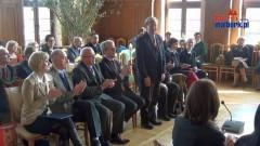 Malbork: XXIX Sesja Rady Miasta. Uroczyste wręczenie Krzyża Kawalerskiego Orderu Zasługi Rzeczypospolitej Polskiej Panu Chrystia