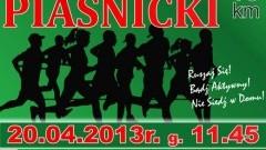 Piaśnica: V Bieg Piaśnicki - 20.04.2013r.