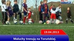 Pomezania: Maluchy trenują na Toruńskiej - 19.04.2013