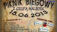 Malbork: Piknik Biegowy z Grupą Malbork - 15.06.2013