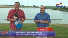 Jezioro KUKSY zaprasza wędkarzy i miłośników letnich kąpieli - Dzierzgoń - 09.07.2013