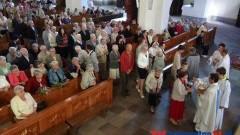 UROCZYSTOŚĆ WNIEBOWZIĘCIA NMP W KOŚCIELE ŚW. JANA CHRZCICIELA W MALBORKU - 15.08.2013