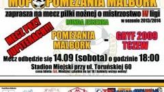 POMEZANIA MALBORK - GRYF 209 TCZEW - 14.09.2013