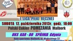 POLSKI CUKIER POMEZANIA MALBORK - KAR-DO SPÓJNIA GDYNIA - 12.10.2013