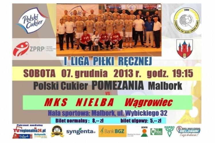 OSTATNI MECZ W MALBORKU Z NIELBĄ - 07.12.13