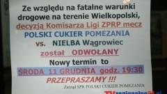 MECZ Z NIELBĄ PRZEŁOŻONY - 11.12.2013
