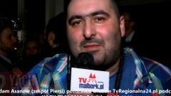 ZESPÓŁ PIERSI - ADAM ASANOW POZDRAWIA MALBORK ! 22. YACH FILM - 08.12.2013