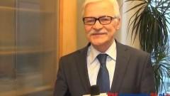 EUROPOSEŁ TADEUSZ ZWIEFKA SKŁADA ŻYCZENIA ŚWIĄTECZNO-NOWOROCZNE. BRUKSELA - 17.12.2013
