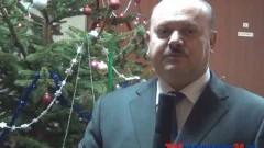 BURMISTRZ MIASTA I GMINY DZIERZGOŃ KAZIMIERZ SZEWCZUN SKŁADA ŻYCZENIA ŚWIĄTECZNO-NOWOROCZNE - 24.12.2013