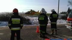 SZEŚĆ OSÓB W SZPITALU - PODTRUCIE TLENKIEM WĘGLA W KLECEWIE - 21.01.2014