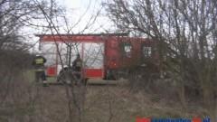 STRAŻACY WALCZĄ Z PLAGĄ POŻARÓW TRAW – 05.03.2014
