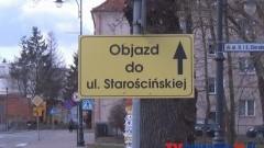 UTRUDNIENIA RUCHU DROGOWEGO W OKOLICY ZAMKU I NA STARYM MIEŚCIE W MALBORKU-18.03.2014