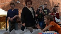 Rzeźby ożywiły przestrzeń miasta w Nowym Dworze Gdańskim - 02.09.2014