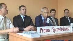 Tomasz Klonowski kandydatem PiS na burmistrza Malborka. Zobacz nagranie konferencji prasowej - 09.09.2014