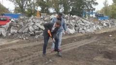 W SZTUMIE RUSZYŁA BUDOWA STADIONU MIEJSKIEGO – 09.10.2014