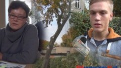 CZY PRZECHYLONE DRZEWO ZAGRAŻA MIESZKAŃCOM JEDNEJ Z KAMIENIC W MALBORKU? - 22.10.2014