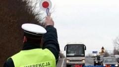 ITD WSPÓLNIE Z POLICJĄ KONTROLOWAŁO AUTOBUSY W SZTUMIE – 30.10.2014