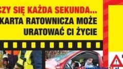 GDY LICZY SIĘ KAŻDA SEKUNDA, KARTA RATOWNICZA MOŻE URATOWAĆ ŻYCIE – 04.11.2014