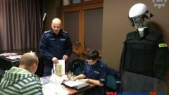 SZTUMSKA POLICJA WZIĘŁA UDZIAŁ W TARGACH PRACY – 21.11.2014