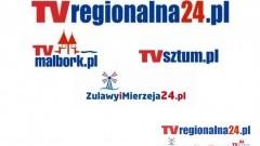 Podział TvRegionalna24.pl ze względu na obszar działania. Każdy region z swoją telewizją TvMalbork, TvSztum Zulawyimierzeja24.pl