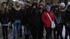 GIMNAZJALIŚCI Z MALBORKA NA EUROPEJSKIM FORUM MŁODZIEŻY - 14.01.2015