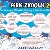Ferie zimowe 2017 w Gminnym Ośrodku Kultury i Sportu w Miłoradzu - 16-27.01.2017