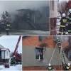 Gmina Ostaszewo. 8 osób zostało bez dachu nad głową. Apel o pomoc. Pożar domu w Gniazdowie - 18.01.2017