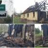 Świerki: Dramat dwóch rodzin. W pożarze domu stracili wszystko. Muszą zaczynać od nowa. Teraz potrzebują pomocy - 05.04.2017