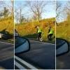 Wypadek w Nowej Wsi (gm.Sztum). Dwa auta w rowie, kobietę zabrano do szpitala - 31.10.2017