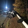 Śmiertelny wypadek na moście na Wiśle w Knybawie.