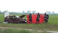 Dziecko i dwie kobiety z powiatu malborskiego zginęły na miejscu. Tragiczny wypadek na trasie między Nowym Stawem, a Lichnowami - 27.05.2016