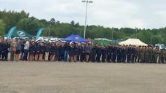 Zespół Szkół Ponadgimnazjalnych nr 4 w Malborku na Trzecich Pomorskich Dniach Otwartych dla Klas o Profilu Policyjnym - 10.06.2016