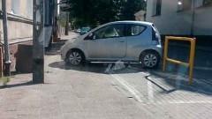 """Mistrzowie(nie tylko)parkowania na """"kopercie"""" przy Słowackiego w Malborku – 24.06.2016"""