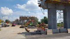 Czy wiadukt na wylocie z Elbląga na Malbork powstanie do 30 listopada? Zobacz, jak idą prace - 04.07.2016