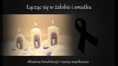Wyrazy głębokiego żalu i współczucia z powodu śmierci Taty Pana Zbigniewa Kowalskiego składa grono pedagogiczne i pracownicy administracji ZSP nr 2 w Malborku