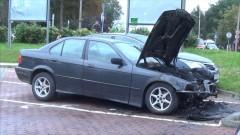 Malbork: Spłonęło BMW na parkingu przy ul. Kopernika! Straty ok. 12 tys. zł – 22.08.2016